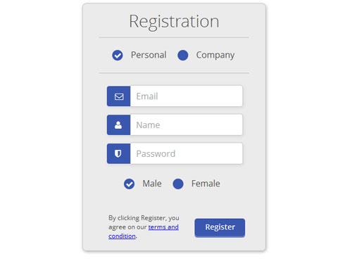 Responsive css forms set & validation by d_atanasov   codecanyon.